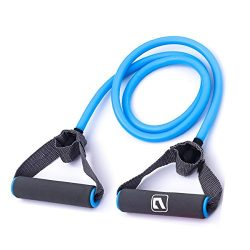 Liveup SPORTS Resistance Bands with Handles for Gym Exercises Home Fitness Strength Training Yog ...