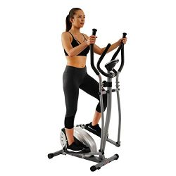 Elliptical Trainer with Hand Pulse Monitoring System by Sunny Health & Fitness – SF-E905