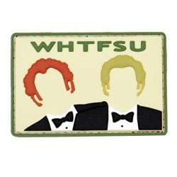 Violent Little Machine 1109 WHTFSU Stepbrothers Original Morale Patch – 3″ x 2″