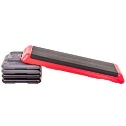 The Step Freestyle Aerobic Platform – Health Club Size, Red
