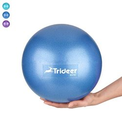 Mini Exercise Ball, Barre Ball, 9 Inch Small Bender Ball, Pilates, Yoga, Core Training and Physi ...