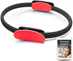 321 STRONG Pilates Ring – Red and Black