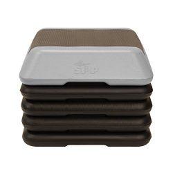 The Step High Step Aerobic Platform – Grey