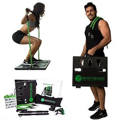 BodyBoss Home Gym 2.0 – Full Portable Gym Home Workout Package + Set Of Resistance Bands & ...