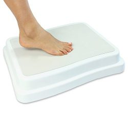 Bath Step by Vive – Safe Step Bathroom Aid for Entering & Exiting Bathtub – Nons ...