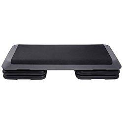 "KLB Sport 43"" Adjustable Exercise Equipment Step Platform For Sports & Fitness(Black & G ..."