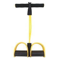 Fitness Resistance Band Rope Tube Elastic Exercise Equipment for Yoga Pilates Workout Latex Tube ...