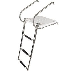 Rage Powersports SP-3S Telescoping Boat Ladders with Platforms