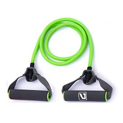 Liveup SPORTS Toning Tube Resistance Bands/Cord Pulley TPR Foam For Exercise Fitness Pilates Str ...
