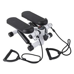 Air Stepper Climber Exercise Fitness Thigh Machine For Home Workout Gym (white & black)