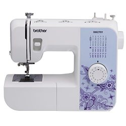 Brother XM2701 Lightweight, Full-Featured Sewing Machine with 27 Stitches, 1-Step Auto-Size Butt ...