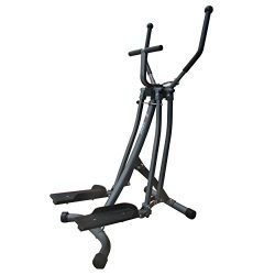 EFITMENT Air Walker Glider Elliptical Machine with Side Sway Action for Exercise and Fitness  ...