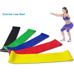 Sport Resistance Loop Bands – Best Home Gym Fitness Exercise Bands for Legs, Glutes, Cross ...