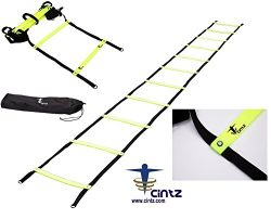 Cintz Fixed Rungs Speed Agility Ladder, 30-Feet