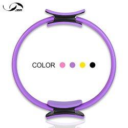 JBM Pilates Ring Fitness Ring 4 Colors, Pilates Circle Fitness Magic Circle for Fitness Training ...