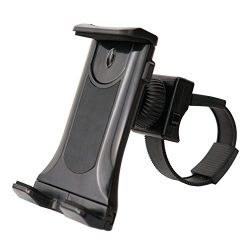 Sunny Health & Fitness Mobile Phone and Tablet Clamp Mount Holder for Bikes, Ellipticals, Tr ...