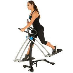 PROGEAR Dual Action 360 Multi Direction 36″ Stride Air Walker LS with Heart Pulse Sensors