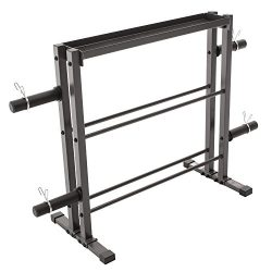 Combo Weights Storage Rack for Dumbbells, Kettlebells, and Weight Plates DBR-0117