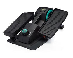 Cubii Jr: Desk Elliptical w/Built In Display Monitor, Easy Assembly, Quiet & Compact, Adjust ...