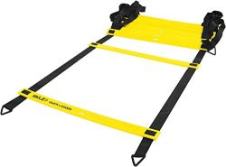 SKLZ Agility Ladder, 15ft Original Quick Ladder, Flat Rung Agility and Acceleration Training, De ...