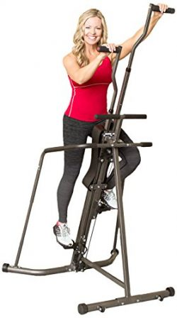 Body Champ BCR890 Cardio Leisa Hart Vertical Stepper Climber / Includes Assembly Video, Meal Pla ...
