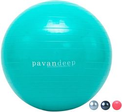 Exercise Stability Ball By Pavandeep 2000lbs Anti Burst Balance Balls for Pilates Yoga Gym Fitne ...