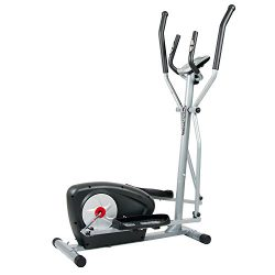 Body Champ Magnetic Elliptical Machine Exercise Trainer with Computer Resistance and Programs /  ...