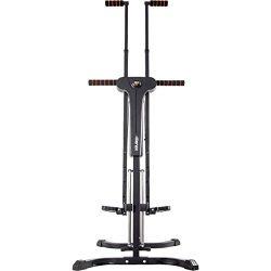 Merax Vertical Climber Exercise Folding Climbing Machine (Black.)