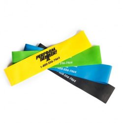 Perform Better Exercise Mini Band, All colors – Set of 4 (Exercise Guide Included)