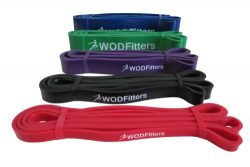 Green – Single Band – WODFitters Assisted Pull-up Resistance Bands for Cross Fitness ...