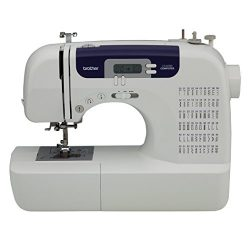 Brother CS6000i Feature-Rich Sewing Machine With 60 Built-In Stitches, 7 styles of 1-Step Auto-S ...