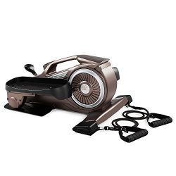 Bionic Body Under-Desk Elliptical Machine Mini Stepper Trainer with Magnetic Resistance Tubes NS ...