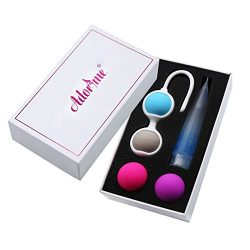 Kegel Exercise Weights – Adorime Ben Wa Kegel Balls Weighted Exercise Kit for Beginner &#8 ...