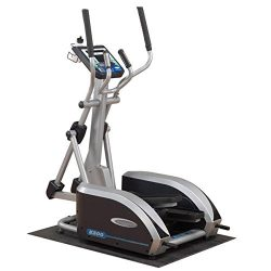 Body Solid E300 Endurance Elliptical Trainer with 5-Readout LED Display and Contact Heart Rate