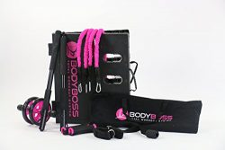 BodyBoss Home Gym 2.0 – Full Portable Gym Home Workout Package + Extra Set Of Resistance B ...