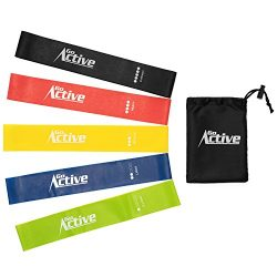 GO Active Lifestyles Resistance Bands For Legs And Butt – Exercise Resistance Loops Band F ...