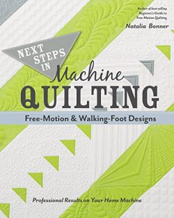 Next Steps in Machine Quilting—Free-Motion & Walking-Foot Designs: Professional Results on Y ...