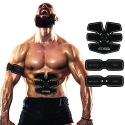 Abdominal Trainer Toning Belts Abdominal Muscle Toner Fitness Gear Workout Slimming Muscle Arm L ...