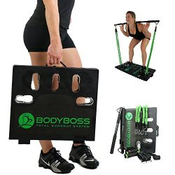 BodyBoss Home Gym 2.0 – Portable Gym Home Workout Package + Extra Set Of Resistance Bands  ...