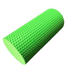 Yoga Foam Roller for Muscle Massage,Firm Premium Quality Helps Physical Therapy/Cramp Relief/Tig ...