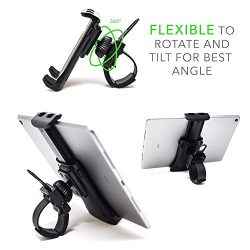 Pro Phone / Ipad / Tablet Exercise Bicycle Accessories – Holder for stationary bike, cycli ...