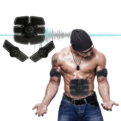 Tenkey Muscle Toner, Abdominal Toning Belt, Abs Trainer Wireless Body Gym Workout Home Office Fi ...