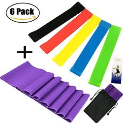 Hiltong Resistance Band Set Exercise Bands Workout Gym Fitness Stretch Band Physical Therapy Equ ...