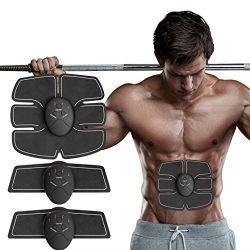 ABS Stimulator Abdominal Muscle Trainer AB Toner, Bauttf Man Woman Slimming Trainer Sculptor Ton ...