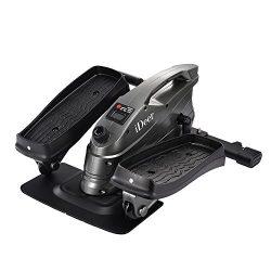 iDeer Under Desk&Stand Up Exercise Bike,Mini Elliptical Stepper Peddler Trainers with Adjust ...