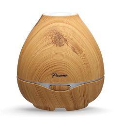 Oil Diffuser Essential Oils, Paxamo 300ml Natural Oil Diffusing Ultrasonic Aroma Diffuser Air Hu ...
