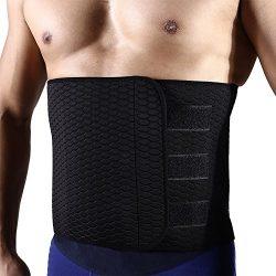 Hero Selected Sweat Waist Trimmer, Neoprene Waist trainer Adjustable Widened Ab Belt for Men-Wei ...