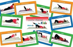 Sportime Core Pilates for Kids Exercise Cards – Set of 57