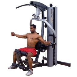Body Solid Fusion F500/3 Home Gym with 310 lb stack