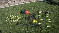 Unlimited Potential Speed and Agility Training Kit – w/Bag Agile Sports Development Equipm ...
